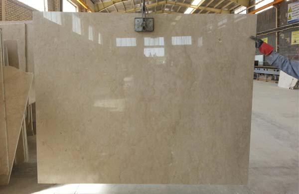 cream marble-slab